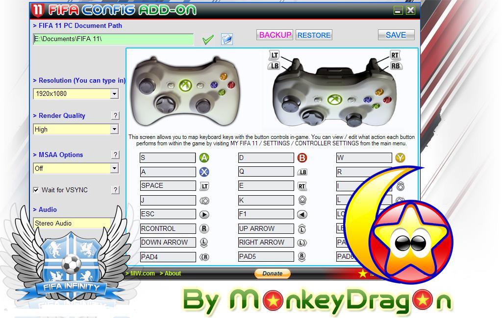 FIFA 11 Keyboard Patch - Файлы - патч, демо, demo, моды. Патчи и программы